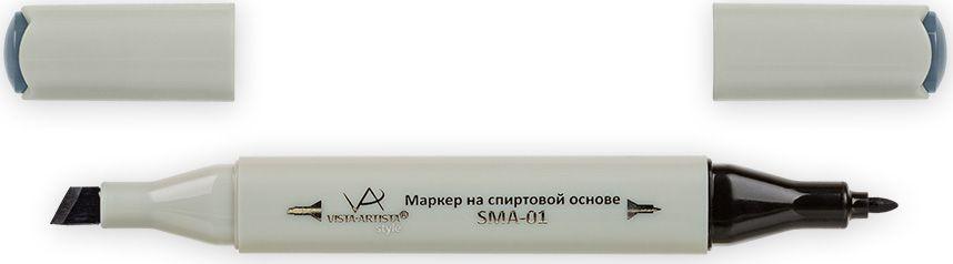 Vista-Artista Маркер Style цвет S522 серый холодный II 733860424132Маркеры ТМ VISTA-ARTISTA Style позволяют работать различными живописными техниками такими, как скетчинг, создание иллюстраций, прорисовка дизайнов и др. Палитра маркеров включает 168 цветов - от пастельных до самых ярких (в том числе маркер-блендер). Маркеры обладают следующими параметрами:- На спиртовой основе.- Водостойкий и не смывается водой.- Два наконечника:* толстый, скошенный наконечник используют для закрашивания больших поверхностей и прорисовки широких линий, толщина линии 1-7 мм; * тонкий наконечник служит для тонких линий, прорисовки деталей и создания рисунка, толщина линии 1 мм.- Краска полупрозрачная, позволяет делать переходы из одного цвета в другой. После нанесения на бумагу высыхает почти сразу.- Цвета можно накладывать друг на друга и смешивать, получая при этом новые оттенки;- Не высыхает при плотно закрытых колпачках.- Маркер-блендер предназначен для создания визуальных эффектов - вымывания фона, смешивания цветов, добавления акварельных эффектов, изменения насыщенности цвета в рисунке.