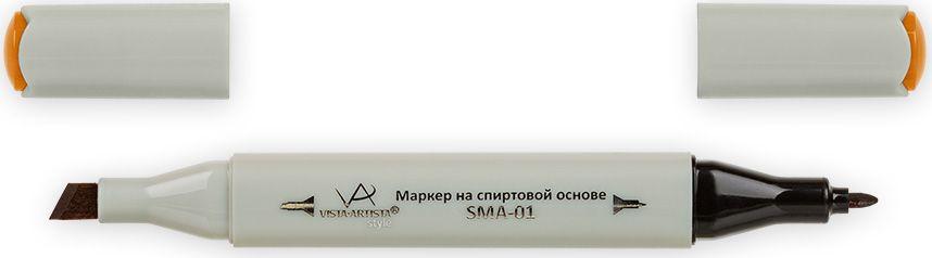 Vista-Artista Маркер Style цвет темная охра желтая J16333860426392Маркер Style с двумя наконечниками позволяет работать различными живописными техниками такими, как скетчинг, создание иллюстраций, прорисовка дизайнов и др. -толстый, скошенный наконечник используют для закрашивания больших поверхностей и прорисовки широких линий, толщина линии 1-7 мм;-тонкий наконечник служит для тонких линий, прорисовки деталей и создания рисунка, толщина линии 1 мм. Цвета можно накладывать друг на друга и смешивать, получая при этом новые оттенки.