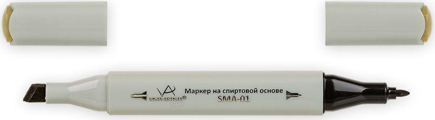 Vista-Artista Маркер Style цвет темный желто-оливковый J13033860443862Маркер Style с двумя наконечниками позволяет работать различными живописными техниками такими, как скетчинг, создание иллюстраций, прорисовка дизайнов и др.-толстый, скошенный наконечник используют для закрашивания больших поверхностей и прорисовки широких линий, толщина линии 1-7 мм; -тонкий наконечник служит для тонких линий, прорисовки деталей и создания рисунка, толщина линии 1 мм.Цвета можно накладывать друг на друга и смешивать, получая при этом новые оттенки.