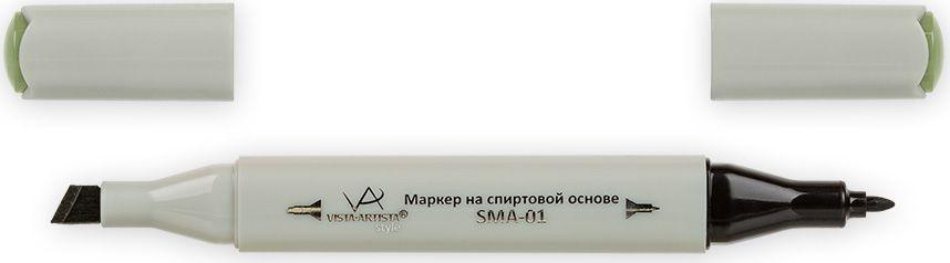 Vista-Artista Маркер Style цвет хакиZ46933862205992Маркер Style с двумя наконечниками позволяет работать различными живописными техниками такими, как скетчинг, создание иллюстраций,прорисовка дизайнов и др.-толстый, скошенный наконечник используют для закрашивания больших поверхностей и прорисовки широких линий, толщина линии 1-7 мм; -тонкий наконечник служит для тонких линий, прорисовки деталей и создания рисунка, толщина линии 1 мм.Цвета можно накладывать друг на друга и смешивать, получая при этом новые оттенки.