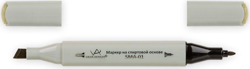Vista-Artista Маркер Style цвет J127 темный желто-серый33862210052Маркеры ТМ VISTA-ARTISTA Style позволяют работать различными живописными техниками такими, как скетчинг, создание иллюстраций, прорисовка дизайнов и др. Палитра маркеров включает 168 цветов - от пастельных до самых ярких (в том числе маркер-блендер). Маркеры обладают следующими параметрами:- На спиртовой основе.- Водостойкий и не смывается водой.- Два наконечника:* толстый, скошенный наконечник используют для закрашивания больших поверхностей и прорисовки широких линий, толщина линии 1-7 мм; * тонкий наконечник служит для тонких линий, прорисовки деталей и создания рисунка, толщина линии 1 мм.- Краска полупрозрачная, позволяет делать переходы из одного цвета в другой. После нанесения на бумагу высыхает почти сразу.- Цвета можно накладывать друг на друга и смешивать, получая при этом новые оттенки;- Не высыхает при плотно закрытых колпачках.- Маркер-блендер предназначен для создания визуальных эффектов - вымывания фона, смешивания цветов, добавления акварельных эффектов, изменения насыщенности цвета в рисунке.