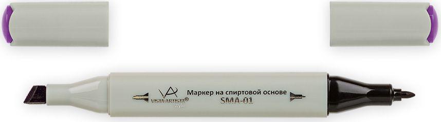 Vista-Artista Маркер Style цвет K292 фиолетовый33862210302Маркеры Vista-Artista Style с двумя наконечниками позволяют работать различными живописными техниками такими, как скетчинг, создание иллюстраций, прорисовка дизайнов и другие. Палитра маркеров включает 168 цветов - от пастельных до самых ярких (в том числе маркер-блендер).Маркеры обладают следующими параметрами:- На спиртовой основе.- Водостойкий и не смывается водой.- Два наконечника: толстый, скошенный наконечник используют для закрашивания больших поверхностей и прорисовки широких линий, толщина линии 1-7 мм; тонкий наконечник служит для тонких линий, прорисовки деталей и создания рисунка, толщина линии 1 мм.- Краска полупрозрачная, позволяет делать переходы из одного цвета в другой.- После нанесения на бумагу высыхает почти сразу.- Цвета можно накладывать друг на друга и смешивать, получая при этом новые оттенки.- Не высыхает при плотно закрытых колпачках.- Маркер-блендер предназначен для создания визуальных эффектов - вымывания фона, смешивания цветов, добавления акварельных эффектов, изменения насыщенности цвета в рисунке.