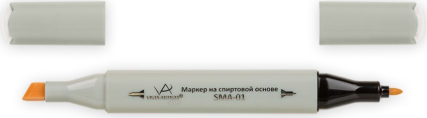 Vista-Artista Маркер Style цвет S485 серый теплый 033862210382Маркеры Vista-Artista Style с двумя наконечниками позволяют работать различными живописными техниками такими, как скетчинг, создание иллюстраций, прорисовка дизайнов и другие. Палитра маркеров включает 168 цветов - от пастельных до самых ярких (в том числе маркер-блендер).Маркеры обладают следующими параметрами:- На спиртовой основе.- Водостойкий и не смывается водой.- Два наконечника: толстый, скошенный наконечник используют для закрашивания больших поверхностей и прорисовки широких линий, толщина линии 1-7 мм; тонкий наконечник служит для тонких линий, прорисовки деталей и создания рисунка, толщина линии 1 мм.- Краска полупрозрачная, позволяет делать переходы из одного цвета в другой.- После нанесения на бумагу высыхает почти сразу.- Цвета можно накладывать друг на друга и смешивать, получая при этом новые оттенки.- Не высыхает при плотно закрытых колпачках.- Маркер-блендер предназначен для создания визуальных эффектов - вымывания фона, смешивания цветов, добавления акварельных эффектов, изменения насыщенности цвета в рисунке.