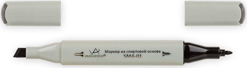 Vista-Artista Маркер Style цвет S492 серый теплый 733862352802Маркеры ТМ VISTA-ARTISTA Style позволяют работать различными живописными техниками такими, как скетчинг, создание иллюстраций, прорисовка дизайнов и др. Палитра маркеров включает 168 цветов - от пастельных до самых ярких (в том числе маркер-блендер). Маркеры обладают следующими параметрами:- На спиртовой основе.- Водостойкий и не смывается водой.- Два наконечника:* толстый, скошенный наконечник используют для закрашивания больших поверхностей и прорисовки широких линий, толщина линии 1-7 мм; * тонкий наконечник служит для тонких линий, прорисовки деталей и создания рисунка, толщина линии 1 мм.- Краска полупрозрачная, позволяет делать переходы из одного цвета в другой. После нанесения на бумагу высыхает почти сразу.- Цвета можно накладывать друг на друга и смешивать, получая при этом новые оттенки;- Не высыхает при плотно закрытых колпачках.- Маркер-блендер предназначен для создания визуальных эффектов - вымывания фона, смешивания цветов, добавления акварельных эффектов, изменения насыщенности цвета в рисунке.