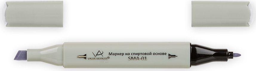 Vista-Artista Маркер Style цвет S515 серый холодный II 033862476392Маркеры Vista-Artista Style с двумя наконечниками позволяют работать различными живописными техниками такими, как скетчинг, создание иллюстраций, прорисовка дизайнов и другие. Палитра маркеров включает 168 цветов - от пастельных до самых ярких (в том числе маркер-блендер).Маркеры обладают следующими параметрами:- На спиртовой основе.- Водостойкий и не смывается водой.- Два наконечника: толстый, скошенный наконечник используют для закрашивания больших поверхностей и прорисовки широких линий, толщина линии 1-7 мм; тонкий наконечник служит для тонких линий, прорисовки деталей и создания рисунка, толщина линии 1 мм.- Краска полупрозрачная, позволяет делать переходы из одного цвета в другой.- После нанесения на бумагу высыхает почти сразу.- Цвета можно накладывать друг на друга и смешивать, получая при этом новые оттенки.- Не высыхает при плотно закрытых колпачках.- Маркер-блендер предназначен для создания визуальных эффектов - вымывания фона, смешивания цветов, добавления акварельных эффектов, изменения насыщенности цвета в рисунке.