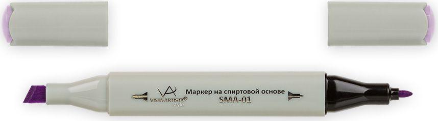 Vista-Artista Маркер Style цвет K290 сиреневый33862479152Маркеры ТМ VISTA-ARTISTA Style позволяют работать различными живописными техниками такими, как скетчинг, создание иллюстраций, прорисовка дизайнов и др. Палитра маркеров включает 168 цветов - от пастельных до самых ярких (в том числе маркер-блендер). Маркеры обладают следующими параметрами:- На спиртовой основе.- Водостойкий и не смывается водой.- Два наконечника:* толстый, скошенный наконечник используют для закрашивания больших поверхностей и прорисовки широких линий, толщина линии 1-7 мм; * тонкий наконечник служит для тонких линий, прорисовки деталей и создания рисунка, толщина линии 1 мм.- Краска полупрозрачная, позволяет делать переходы из одного цвета в другой. После нанесения на бумагу высыхает почти сразу.- Цвета можно накладывать друг на друга и смешивать, получая при этом новые оттенки;- Не высыхает при плотно закрытых колпачках.- Маркер-блендер предназначен для создания визуальных эффектов - вымывания фона, смешивания цветов, добавления акварельных эффектов, изменения насыщенности цвета в рисунке.