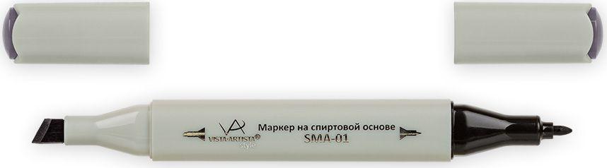 Vista-Artista Маркер Style цвет K301 сиренево-серый33862482082Маркеры ТМ VISTA-ARTISTA Style позволяют работать различными живописными техниками такими, как скетчинг, создание иллюстраций, прорисовка дизайнов и др. Палитра маркеров включает 168 цветов - от пастельных до самых ярких (в том числе маркер-блендер). Маркеры обладают следующими параметрами:- На спиртовой основе.- Водостойкий и не смывается водой.- Два наконечника:* толстый, скошенный наконечник используют для закрашивания больших поверхностей и прорисовки широких линий, толщина линии 1-7 мм; * тонкий наконечник служит для тонких линий, прорисовки деталей и создания рисунка, толщина линии 1 мм.- Краска полупрозрачная, позволяет делать переходы из одного цвета в другой. После нанесения на бумагу высыхает почти сразу.- Цвета можно накладывать друг на друга и смешивать, получая при этом новые оттенки;- Не высыхает при плотно закрытых колпачках.- Маркер-блендер предназначен для создания визуальных эффектов - вымывания фона, смешивания цветов, добавления акварельных эффектов, изменения насыщенности цвета в рисунке.