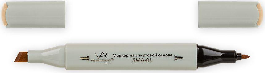 Vista-Artista Маркер Style J173 Morin33862486452Маркеры ТМ VISTA-ARTISTA Style позволяют работать различными живописными техниками такими, как скетчинг, создание иллюстраций, прорисовка дизайнов и др. Палитра маркеров включает 168 цветов - от пастельных до самых ярких (в том числе маркер-блендер). Маркеры обладают следующими параметрами:- На спиртовой основе.- Водостойкий и не смывается водой.- Два наконечника:* толстый, скошенный наконечник используют для закрашивания больших поверхностей и прорисовки широких линий, толщина линии 1-7 мм; * тонкий наконечник служит для тонких линий, прорисовки деталей и создания рисунка, толщина линии 1 мм.- Краска полупрозрачная, позволяет делать переходы из одного цвета в другой. После нанесения на бумагу высыхает почти сразу.- Цвета можно накладывать друг на друга и смешивать, получая при этом новые оттенки;- Не высыхает при плотно закрытых колпачках.- Маркер-блендер предназначен для создания визуальных эффектов - вымывания фона, смешивания цветов, добавления акварельных эффектов, изменения насыщенности цвета в рисунке.