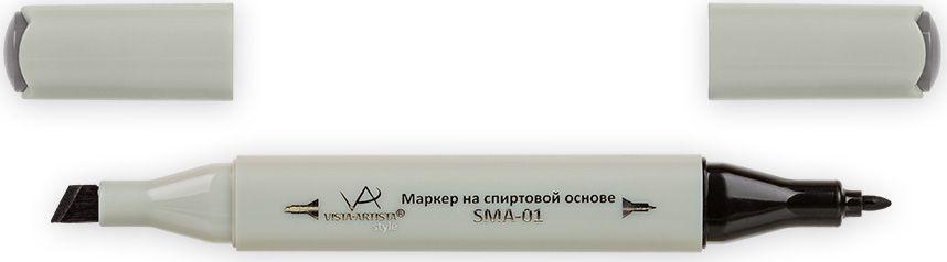 Vista-Artista Маркер Style цвет S491 серый теплый 633862487692Маркеры Vista-Artista Style с двумя наконечниками позволяют работать различными живописными техниками такими, как скетчинг, создание иллюстраций, прорисовка дизайнов и другие. Палитра маркеров включает 168 цветов - от пастельных до самых ярких (в том числе маркер-блендер).Маркеры обладают следующими параметрами:- На спиртовой основе.- Водостойкий и не смывается водой.- Два наконечника: толстый, скошенный наконечник используют для закрашивания больших поверхностей и прорисовки широких линий, толщина линии 1-7 мм; тонкий наконечник служит для тонких линий, прорисовки деталей и создания рисунка, толщина линии 1 мм.- Краска полупрозрачная, позволяет делать переходы из одного цвета в другой.- После нанесения на бумагу высыхает почти сразу.- Цвета можно накладывать друг на друга и смешивать, получая при этом новые оттенки.- Не высыхает при плотно закрытых колпачках.- Маркер-блендер предназначен для создания визуальных эффектов - вымывания фона, смешивания цветов, добавления акварельных эффектов, изменения насыщенности цвета в рисунке.