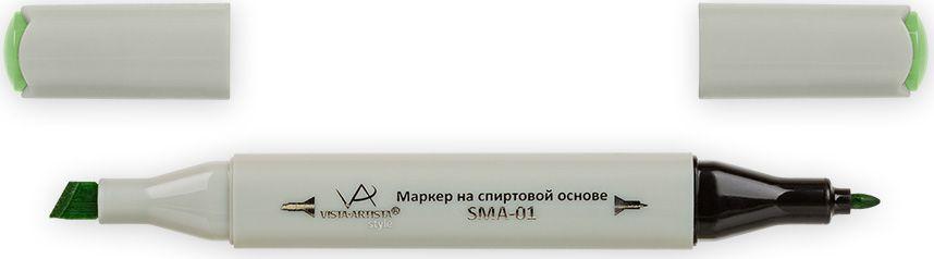 Vista-Artista Маркер Style цвет Z433 лаймовый33862489442Маркеры Vista-Artista Style с двумя наконечниками позволяют работать различными живописными техниками такими, как скетчинг, создание иллюстраций, прорисовка дизайнов и другие. Палитра маркеров включает 168 цветов - от пастельных до самых ярких (в том числе маркер-блендер).Маркеры обладают следующими параметрами:- На спиртовой основе.- Водостойкий и не смывается водой.- Два наконечника: толстый, скошенный наконечник используют для закрашивания больших поверхностей и прорисовки широких линий, толщина линии 1-7 мм; тонкий наконечник служит для тонких линий, прорисовки деталей и создания рисунка, толщина линии 1 мм.- Краска полупрозрачная, позволяет делать переходы из одного цвета в другой.- После нанесения на бумагу высыхает почти сразу.- Цвета можно накладывать друг на друга и смешивать, получая при этом новые оттенки.- Не высыхает при плотно закрытых колпачках.- Маркер-блендер предназначен для создания визуальных эффектов - вымывания фона, смешивания цветов, добавления акварельных эффектов, изменения насыщенности цвета в рисунке.