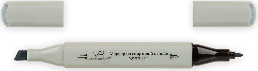 Vista-Artista Маркер Style цвет S531 светлый зелено-серый33862489622Маркеры ТМ VISTA-ARTISTA Style позволяют работать различными живописными техниками такими, как скетчинг, создание иллюстраций, прорисовка дизайнов и др. Палитра маркеров включает 168 цветов - от пастельных до самых ярких (в том числе маркер-блендер). Маркеры обладают следующими параметрами:- На спиртовой основе.- Водостойкий и не смывается водой.- Два наконечника:* толстый, скошенный наконечник используют для закрашивания больших поверхностей и прорисовки широких линий, толщина линии 1-7 мм; * тонкий наконечник служит для тонких линий, прорисовки деталей и создания рисунка, толщина линии 1 мм.- Краска полупрозрачная, позволяет делать переходы из одного цвета в другой. После нанесения на бумагу высыхает почти сразу.- Цвета можно накладывать друг на друга и смешивать, получая при этом новые оттенки;- Не высыхает при плотно закрытых колпачках.- Маркер-блендер предназначен для создания визуальных эффектов - вымывания фона, смешивания цветов, добавления акварельных эффектов, изменения насыщенности цвета в рисунке.