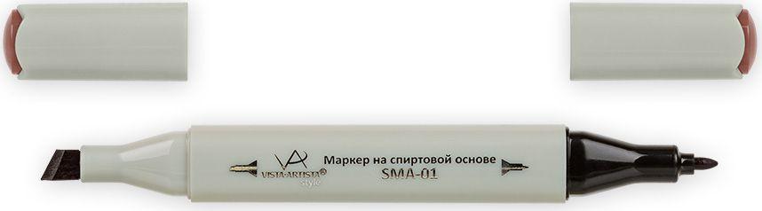 Vista-Artista Маркер Style цвет светло-шоколадный K22133862491602Маркер Style с двумя наконечниками позволяет работать различными живописными техниками такими, как скетчинг, создание иллюстраций, прорисовка дизайнов и др. -толстый, скошенный наконечник используют для закрашивания больших поверхностей и прорисовки широких линий, толщина линии 1-7 мм;-тонкий наконечник служит для тонких линий, прорисовки деталей и создания рисунка, толщина линии 1 мм. Цвета можно накладывать друг на друга и смешивать, получая при этом новые оттенки.