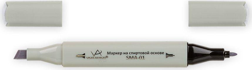 Vista-Artista Маркер Style цвет S516 серый холодный II 133863325372Маркеры ТМ VISTA-ARTISTA Style позволяют работать различными живописными техниками такими, как скетчинг, создание иллюстраций, прорисовка дизайнов и др. Палитра маркеров включает 168 цветов - от пастельных до самых ярких (в том числе маркер-блендер). Маркеры обладают следующими параметрами:- На спиртовой основе.- Водостойкий и не смывается водой.- Два наконечника:* толстый, скошенный наконечник используют для закрашивания больших поверхностей и прорисовки широких линий, толщина линии 1-7 мм; * тонкий наконечник служит для тонких линий, прорисовки деталей и создания рисунка, толщина линии 1 мм.- Краска полупрозрачная, позволяет делать переходы из одного цвета в другой. После нанесения на бумагу высыхает почти сразу.- Цвета можно накладывать друг на друга и смешивать, получая при этом новые оттенки;- Не высыхает при плотно закрытых колпачках.- Маркер-блендер предназначен для создания визуальных эффектов - вымывания фона, смешивания цветов, добавления акварельных эффектов, изменения насыщенности цвета в рисунке.