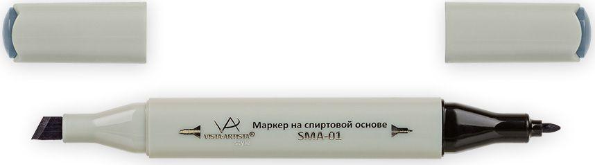 Vista-Artista Маркер Style цвет серый холодный II 6 S52133863326822Маркер Style с двумя наконечниками позволяет работать различными живописными техниками такими, как скетчинг, создание иллюстраций, прорисовка дизайнов и др.-толстый, скошенный наконечник используют для закрашивания больших поверхностей и прорисовки широких линий, толщина линии 1-7 мм; -тонкий наконечник служит для тонких линий, прорисовки деталей и создания рисунка, толщина линии 1 мм.Цвета можно накладывать друг на друга и смешивать, получая при этом новые оттенки.