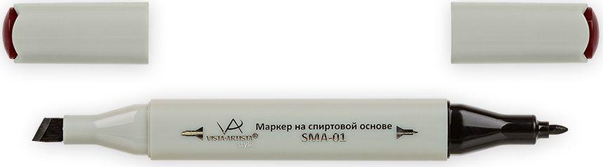 Vista-Artista Маркер Style цвет молочно-шоколадный J21333863327522Маркер Style с двумя наконечниками позволяет работать различными живописными техниками такими, как скетчинг, создание иллюстраций, прорисовка дизайнов и др. -толстый, скошенный наконечник используют для закрашивания больших поверхностей и прорисовки широких линий, толщина линии 1-7 мм;-тонкий наконечник служит для тонких линий, прорисовки деталей и создания рисунка, толщина линии 1 мм. Цвета можно накладывать друг на друга и смешивать, получая при этом новые оттенки.