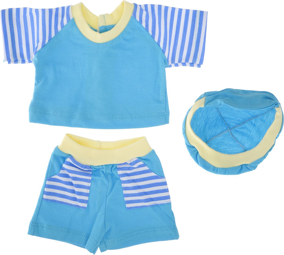 Карапуз Одежда для кукол Футболка шортики и кепочка куклы и одежда для кукол карапуз принцесса софия 25 см