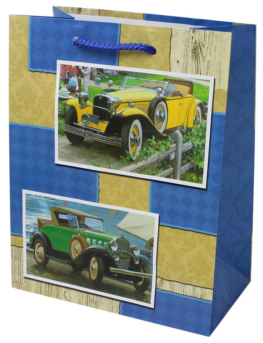Пакет подарочный Мегамаг, ламинированный, 18 х 22,7 х 10 см. 2203 M2203 MПакет подарочный ламинированный. Ручки-шнурки. Размер:180 x 227 x 100 мм .