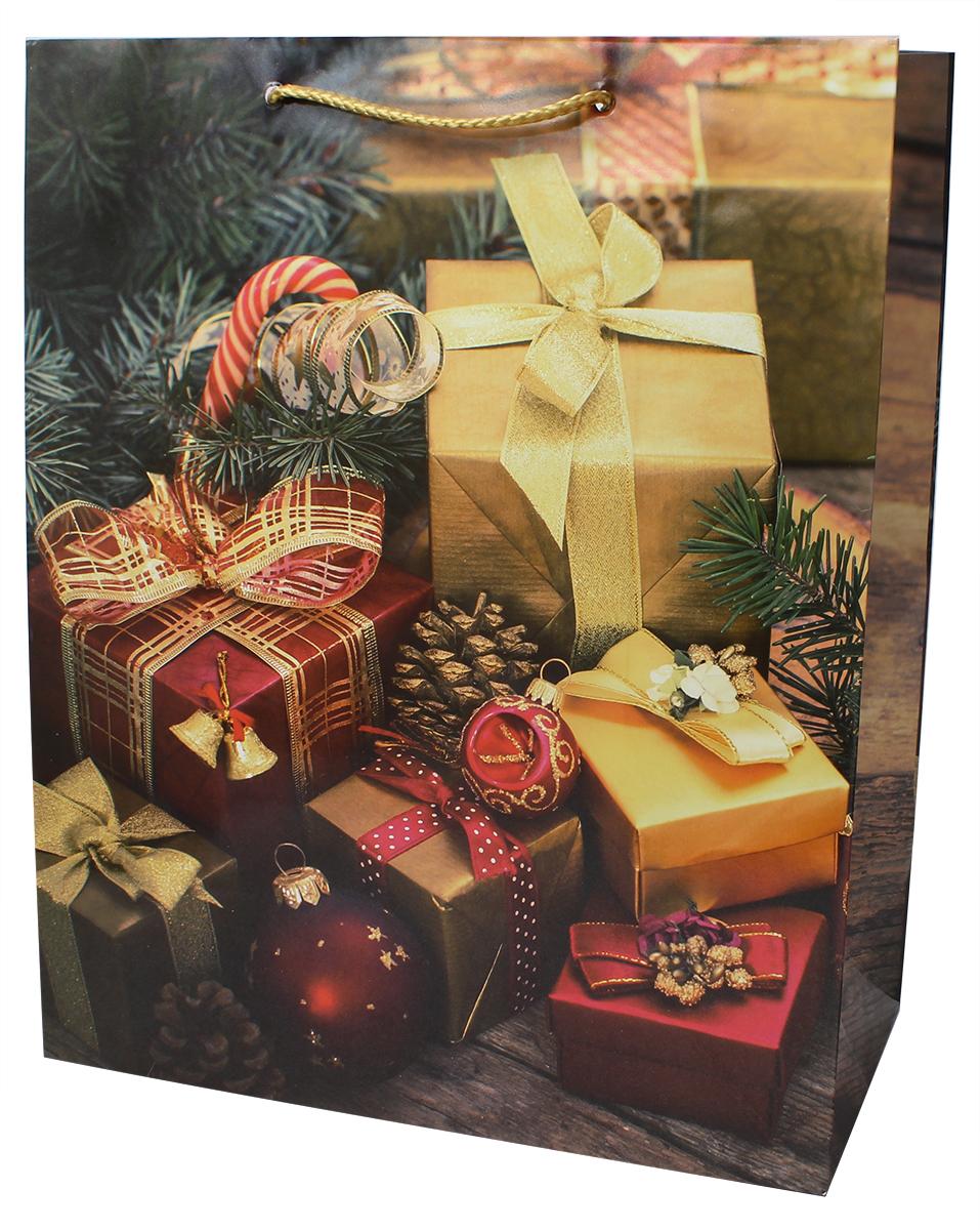 Пакет подарочный Мегамаг, ламинированный, 26,4 х 32,7 х 13,6 см. 3202 L3202 LПакет подарочный ламинированный. Ручки-шнурки.Размер:264 x 327 x 136 мм .