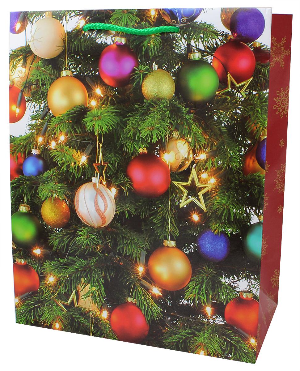 Пакет подарочный Мегамаг, ламинированный, 26,4 х 32,7 х 13,6 см. 3212 L3212 LПакет подарочный ламинированный. Ручки-шнурки.Размер:264 x 327 x 136 мм .