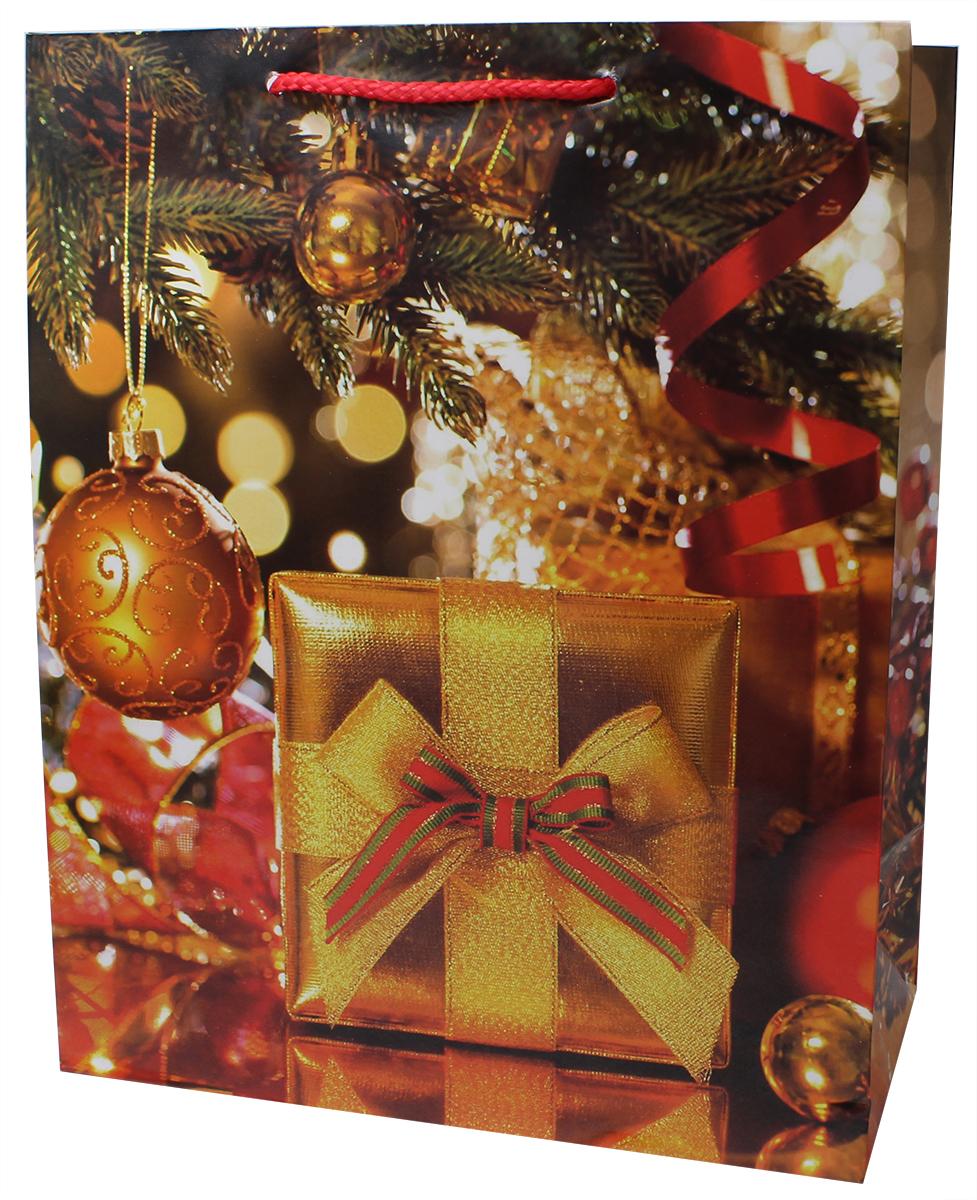 Пакет подарочный Мегамаг, ламинированный, 26,4 х 32,7 х 13,6 см. 3217 L3217 LПакет подарочный ламинированный. Ручки-шнурки. Размер:264 x 327 x 136 мм .