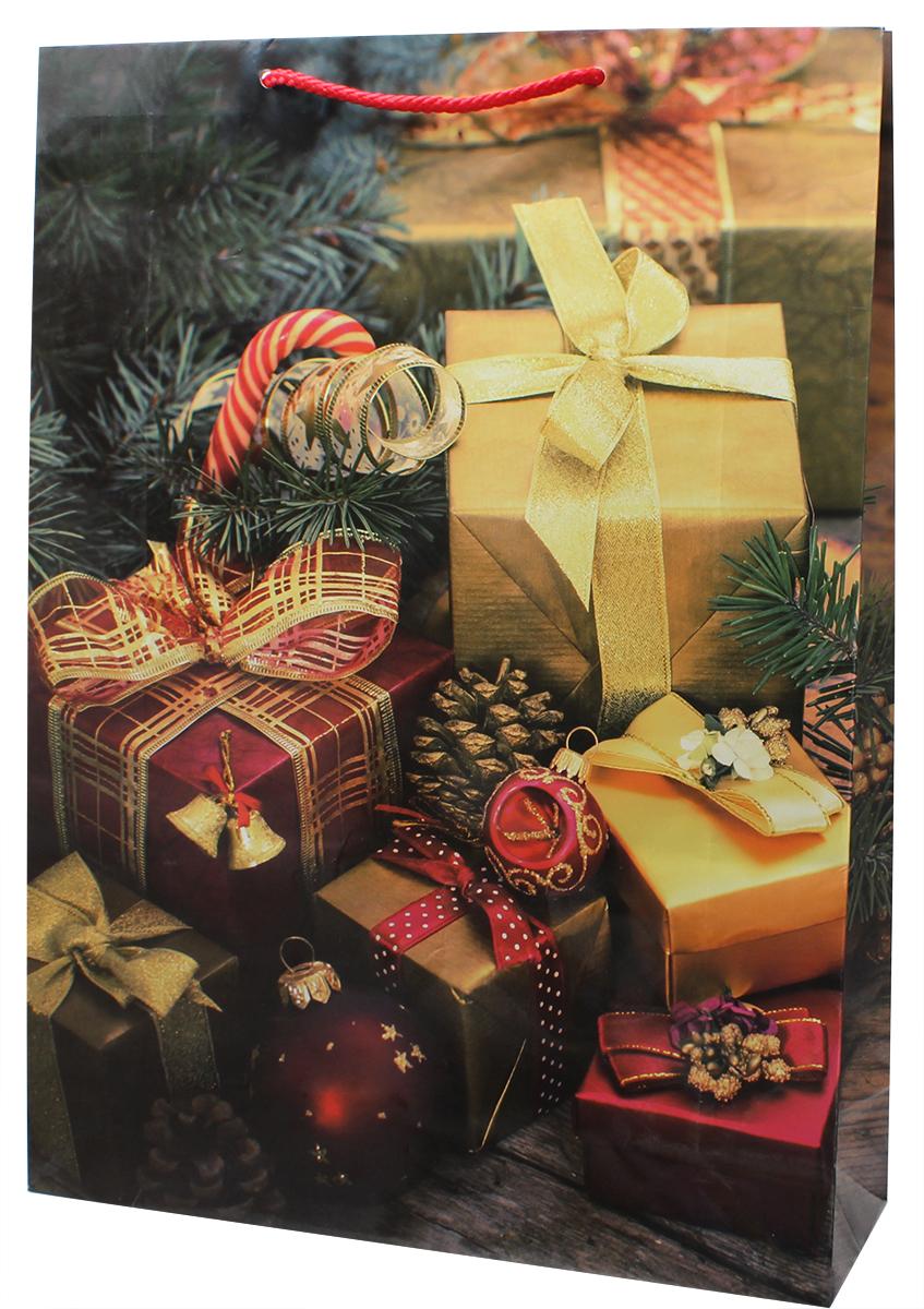 Пакет подарочный Мегамаг, ламинированный, 32,4 х 44,5 х 10,2 см. 5097 XL5097 XLПакет подарочный ламинированный. Ручки-шнурки.Размер:324 x 445 x 102 мм .