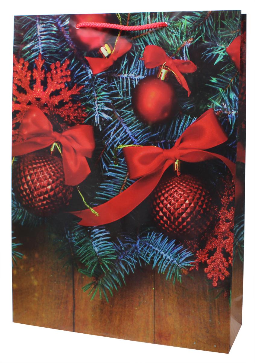 Пакет подарочный Мегамаг, ламинированный, 32,4 х 44,5 х 10,2 см. 5102 XL5102 XLПакет подарочный ламинированный. Ручки-шнурки.Размер:324 x 445 x 102 мм .