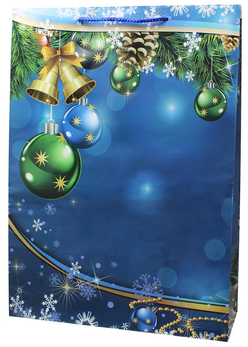Пакет подарочный Мегамаг, ламинированный, 32,4 х 44,5 х 10,2 см. 5106 XL5106 XLПакет подарочный ламинированный. Ручки-шнурки. Размер:324 x 445 x 102 мм .