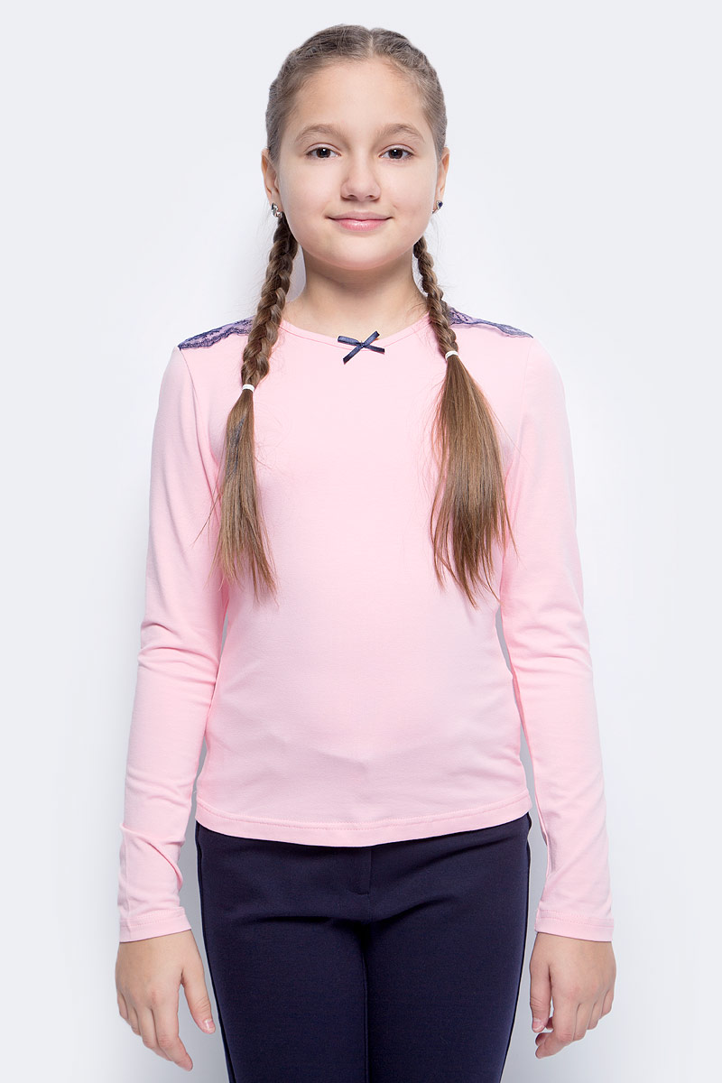 Блузка для девочки Nota Bene, цвет: розовый. CJR27031_5. Размер 128