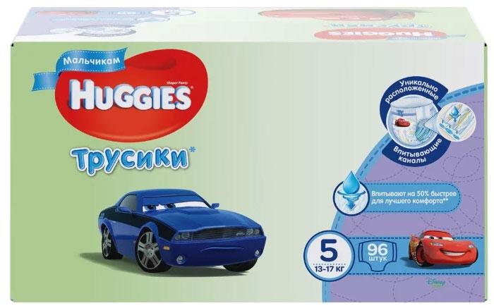 Huggies Подгузники-трусики для мальчиков 13-17 кг (размер 5) 96 шт