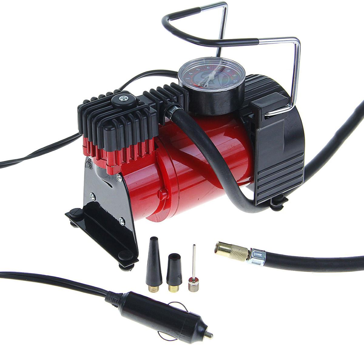 Компрессор автомобильный Torso TK-118, 15А, 35 л/мин1065278Автомобильный компрессор TORSO — это незаменимый помощник автомобилиста. Потребуется для накачивания колеса после прокола, выхода из строя ниппеля или подкачки запаски. Особенно прибор необходим в сезоны смены шин, во время поездок на далёкие расстояния. Специальные насадки позволят подкачать волейбольный мяч, шины велосипеда или резиновую лодку. Бюджетная модель, подойдёт для экономного водителя, который ценит соотношение хорошего качества и оптимальной стоимости. 15 А, 35 л/мин, провод 3 м, шланг 1 м