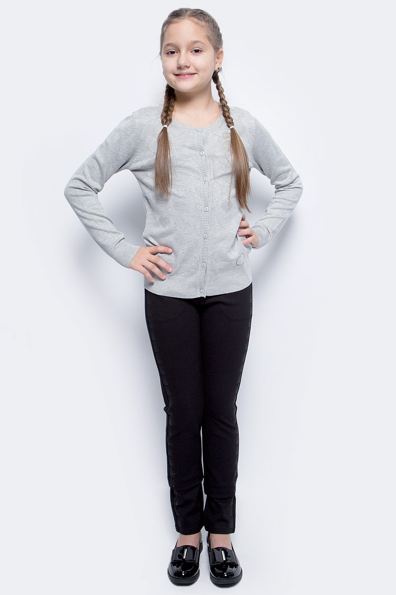 Брюки для девочки Vitacci, цвет: черный. 2171231-03. Размер 164 брюки для девочки vitacci цвет черный 2171217 03 размер 164