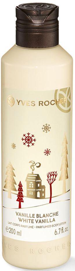 Yves Rocher Молочко для Тела Снежная Ваниль, 200 мл76761Окунитесь в волшебную атмосферу праздника со сказочным ароматом Молочка для Тела из Лимитированной Коллекции Снежная Ваниль. Оно смягчает кожу и дарит ей чарующий аромат. Побалуйте себя в ожидании праздников!