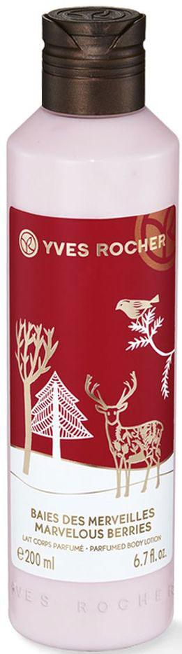 Yves Rocher Молочко для Тела Зимние Ягоды, 200 мл79693Подарите себе ощущение праздника с ароматом молочка для тела из коллекции Зимние Ягоды. Оно смягчает кожу и оставляет на ней пикантный и ягодный аромат. Побалуйте себя в ожидании праздников!