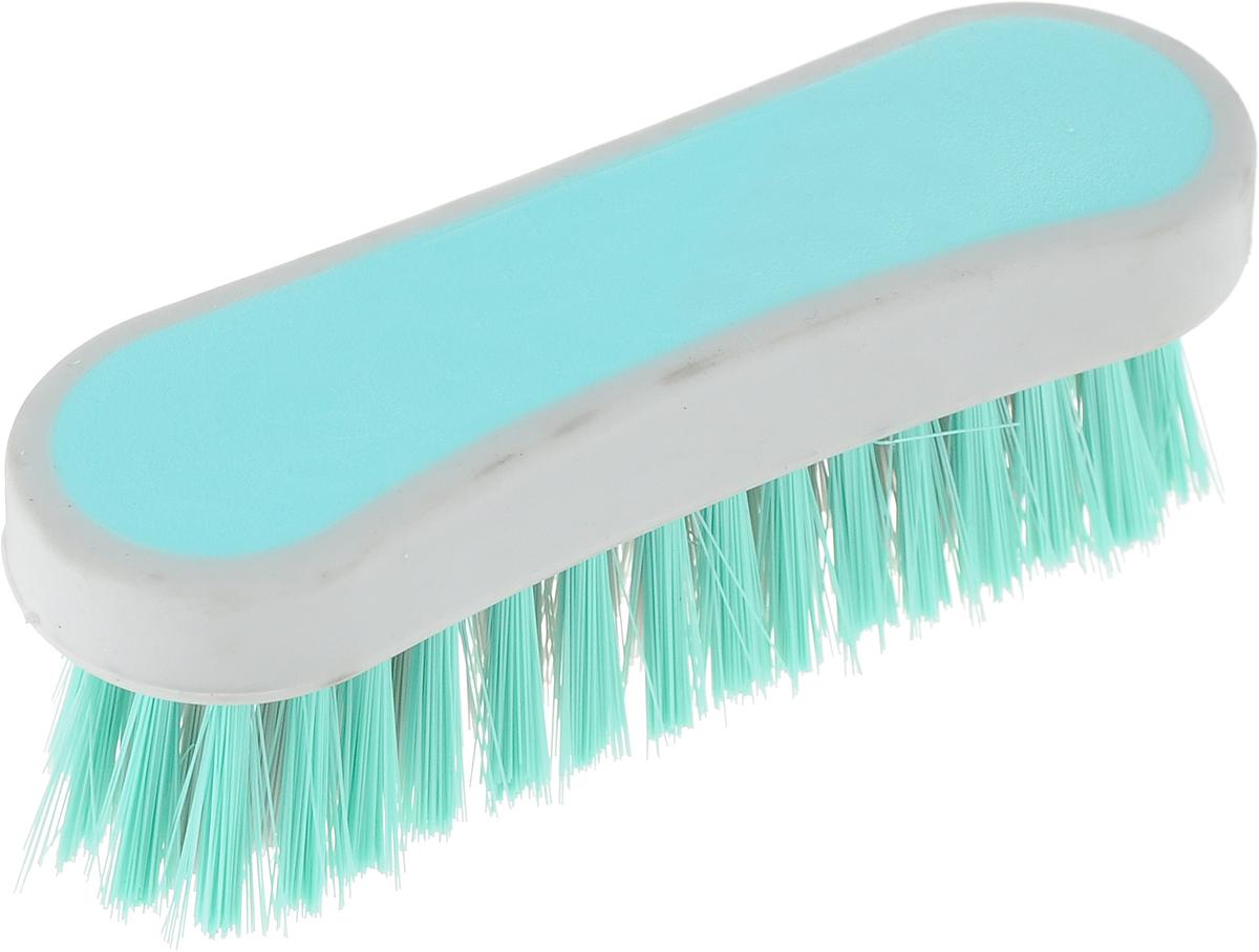 Еврощетка Home Queen Фигурная, универсальная, цвет: мятный52073_мятныйЕврощетка Home Queen Фигурная, выполненная из полипропилена и нейлона,является универсальной щеткой для любых поверхностей, эффективно очищающейзагрязнения. Изделие имеет эргономичную форму для большего удобства использования.Размер: 12,5 см х 4 см х 4,5 см.Длина ворсинок: 3 см.