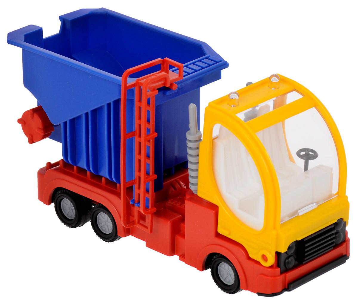 Форма Машинка Дальнобойщик цвет желтый синий красный машинки toystate машинка toystate