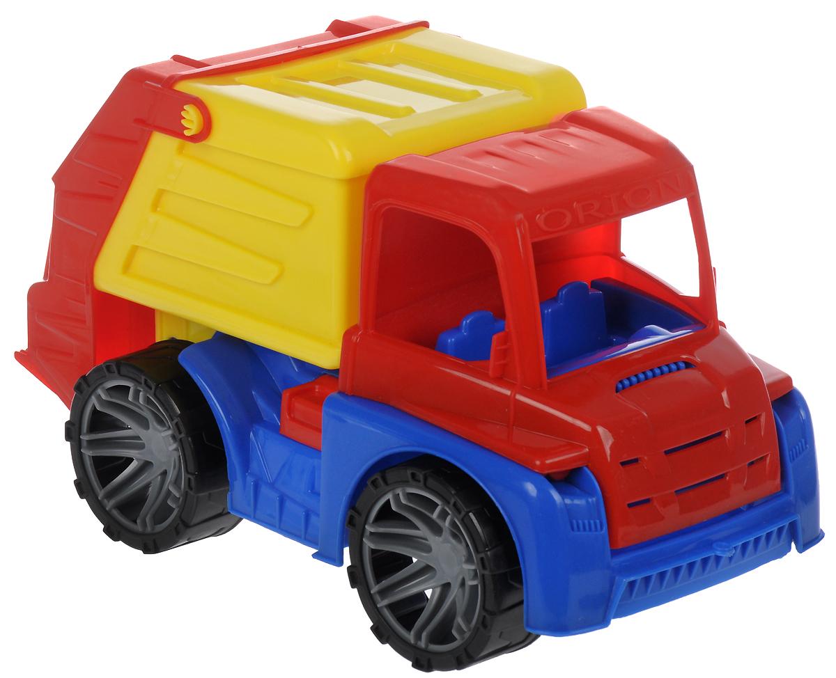 Орион Мусоровоз цвет кузова желтый мусоровоз orion камакс мусоровоз 765 разноцветный в ассортименте