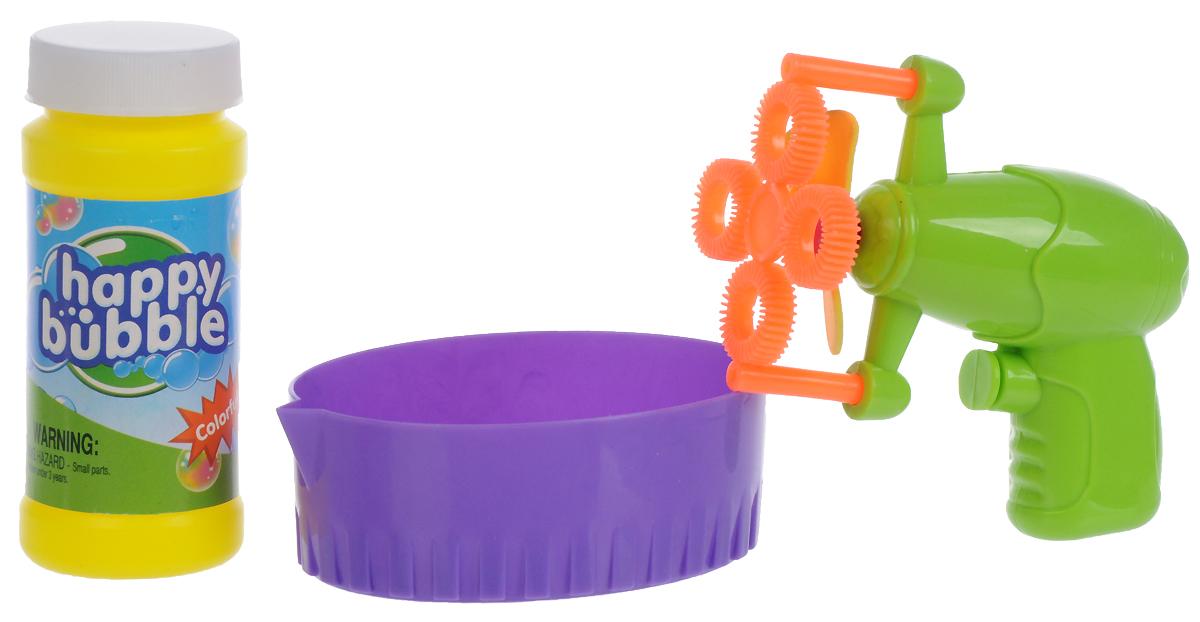 Junfa Toys Набор для пускания мыльных пузырей цвет салатовый мыльные пузыри hti установка для пускания мыльных пузырей газонокосилка