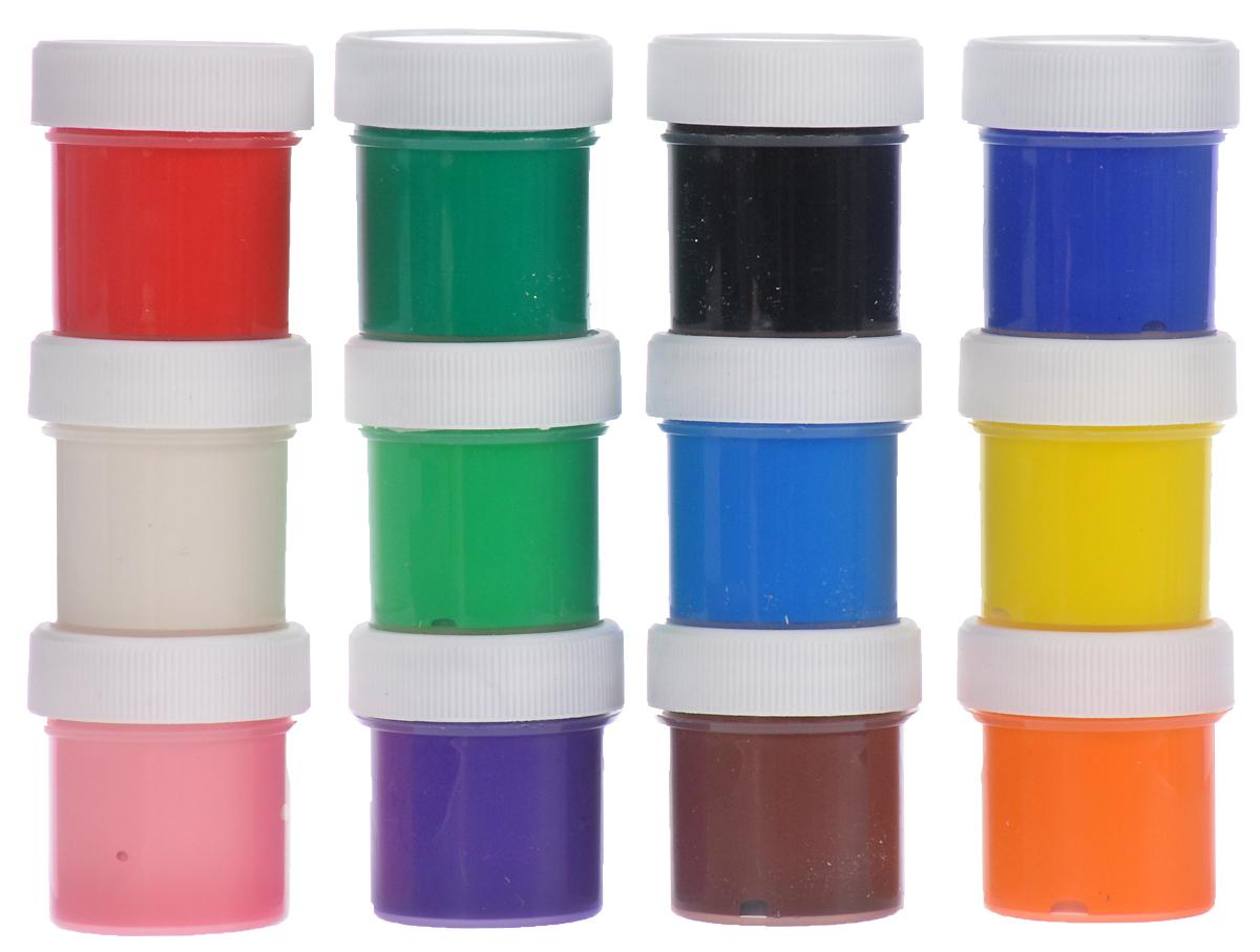 Brauberg Гуашь 12 цветов190557Гуашь Brauberg прекрасно подойдет для детского творчества и декоративно-оформительскихработ по бумаге, картону, холсту, дереву и не оставит равнодушным ни одного ребенка. Благодаря краскам с высокой пигментацией цветов, рисунки будут выглядеть болеевыразительно и профессионально.Не содержат токсических веществ, полностью безопасныдля детей. Рисование развивает творческие способности, воображение, логику, память,мышление. Пусть мир вашего ребенка будет ярким и безопасным!Уважаемые клиенты! Обращаем ваше внимание на то, что упаковка может иметь несколько видов дизайна.Поставка осуществляется в зависимости от наличия на складе.