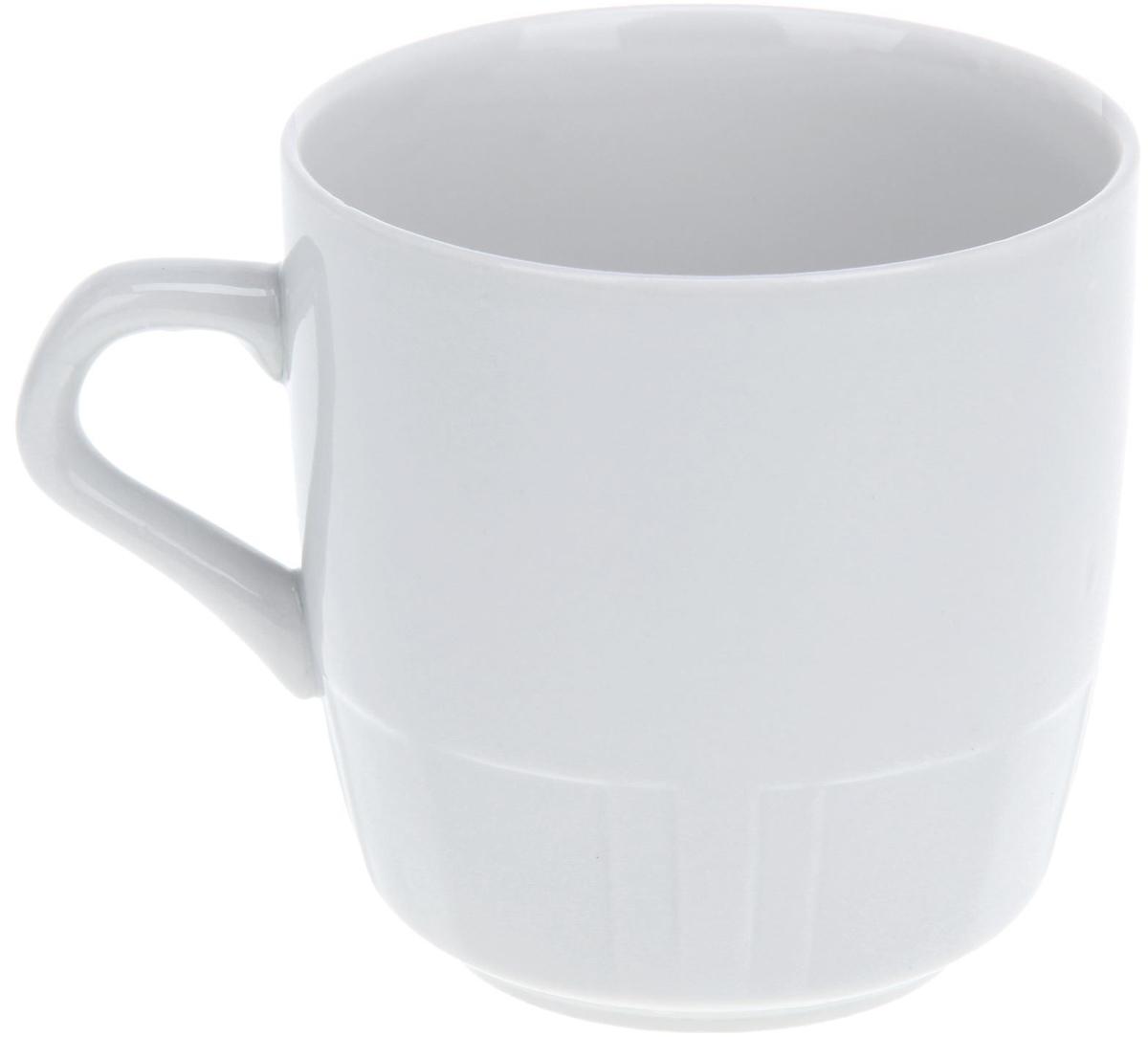 Кружка Фарфор Вербилок, 250 мл. 1333182 посуда из фарфора оптом