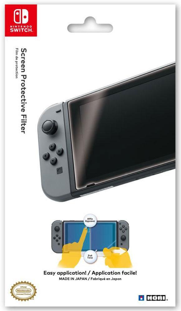 Hori защитная пленка для Nintendo Switch (NSW-032U)HR14Защитная пленка Hori для Nintendo Switch поможет уберечь экран вашей консоли от ненужных потертостей и царапин. Достаточно просто клеится и при необходимости легко снимается.