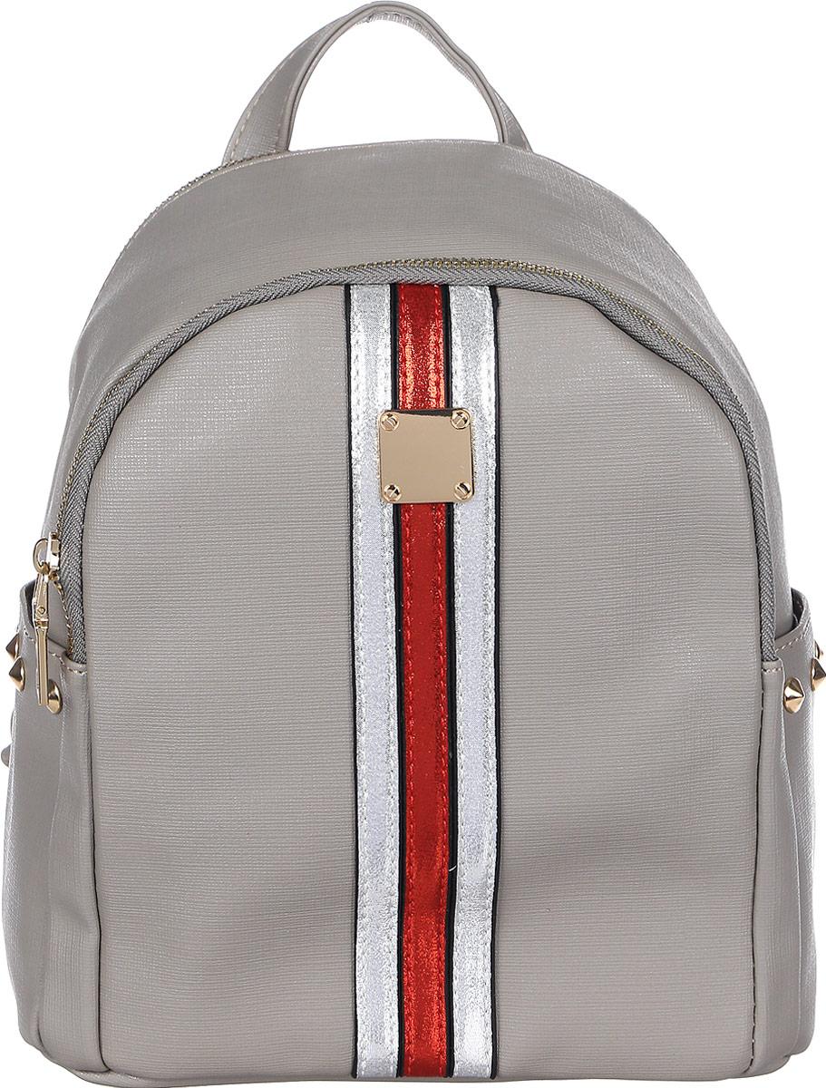 Рюкзак женский DDA, цвет: песочный. DDA SB-1052 DG рюкзак женский dda цвет песочный dda sb 1052 dg