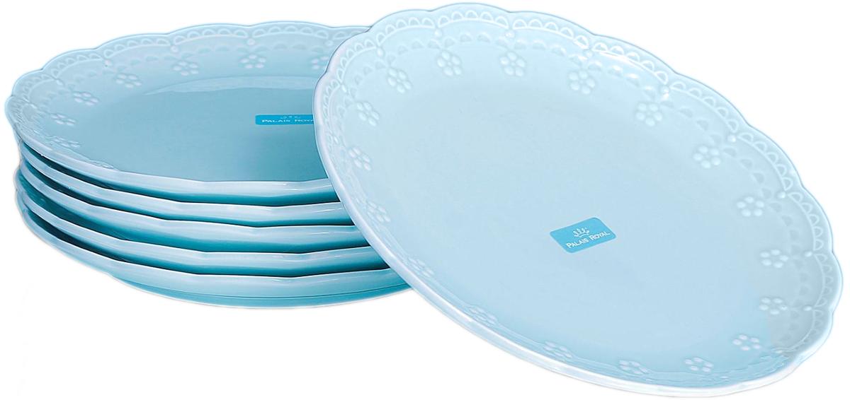 Набор тарелок Lamart Dolci, цвет: бирюзовый, диаметр 20 см, 6 шт869835Набор тарелок Dolci бирюзовый (6 шт) — отличный подарок, подчёркивающий яркую индивидуальность того, кому он предназначается. Некоторые вещи мы вряд ли когда-то купим себе сами. Но, будучи подаренными друзьями или родными, они доставляют нам массу удовольствия. С одной такой вещи может начаться целая коллекция. Только у нас вы можете купить оптом данный товар по столь привлекательной цене.