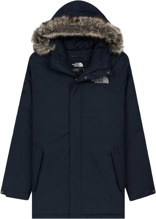 Куртка мужская The North Face Zaneck Jacket, цвет: темно-синий. T92TUIH2G. Размер XL (50/52)T92TUIH2GУдобная куртка позволит сохранить стильный вид даже в суровую погоду. Утеплитель Heatseeker удерживает тепло тела, обеспечивая комфорт в городе, а технология DryVent быстро отводит пот, когда становится жарко. Результат: сухость и комфорт в течение нескольких часов. Удлиненный крой и съемный капюшон с окантовкой из искусственного меха делают образ более утонченным и стильным. Модель застегивается на молнию и дополнительно ветрозащитным клапаном на кнопки.