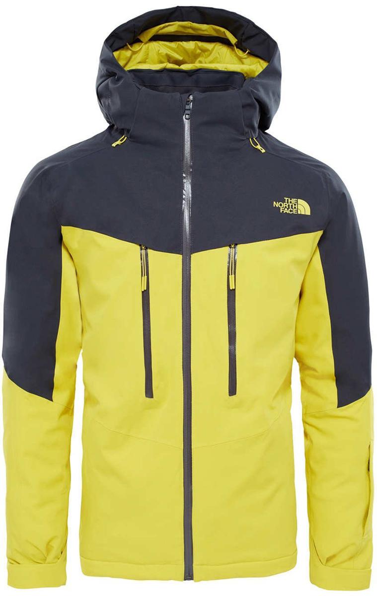 Куртка мужская The North Face M Chakal Jkt - Eu, цвет: желтый, черный. T93BZ4W8B. Размер XL (50/52)T93BZ4W8BМужская куртка The North Face выполнена из 100% полиэстера. Модель с капюшоном и длинными рукавами застегивается на застежку-молнию. Капюшон дополнен шнурком-кулиской. Спереди расположены два прорезных кармана на молниях.