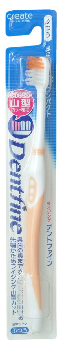 Create Зубная щетка с компактной чистящей головкой и щетинками разного уровня, средней жесткости, цвет: оранжевый021915_orageЗубная щетка с компактной чистящей головкой, тонкими кончиками и щетинками разного уровня позволяет тщательно очистить самые труднодоступные места. Легко проникает в узкие щели между зубами и деснами, тщательно очищает налет.Зубную щётку удобно держать благодаря резиновой накладке на ручке, предотвращающей скольжение пальцев.* Секрет правильной чистки зубов заключается в частых движениях щеткой без приложения силы и использовании кончиков щетинок для очищения пространства между зубами. Резкие движения зубной щеткой не удаляют тщательно налёт с зубов и становятся причиной повреждения дёсен.Товар рекомендован Японской ассоциацией производителей щеток.