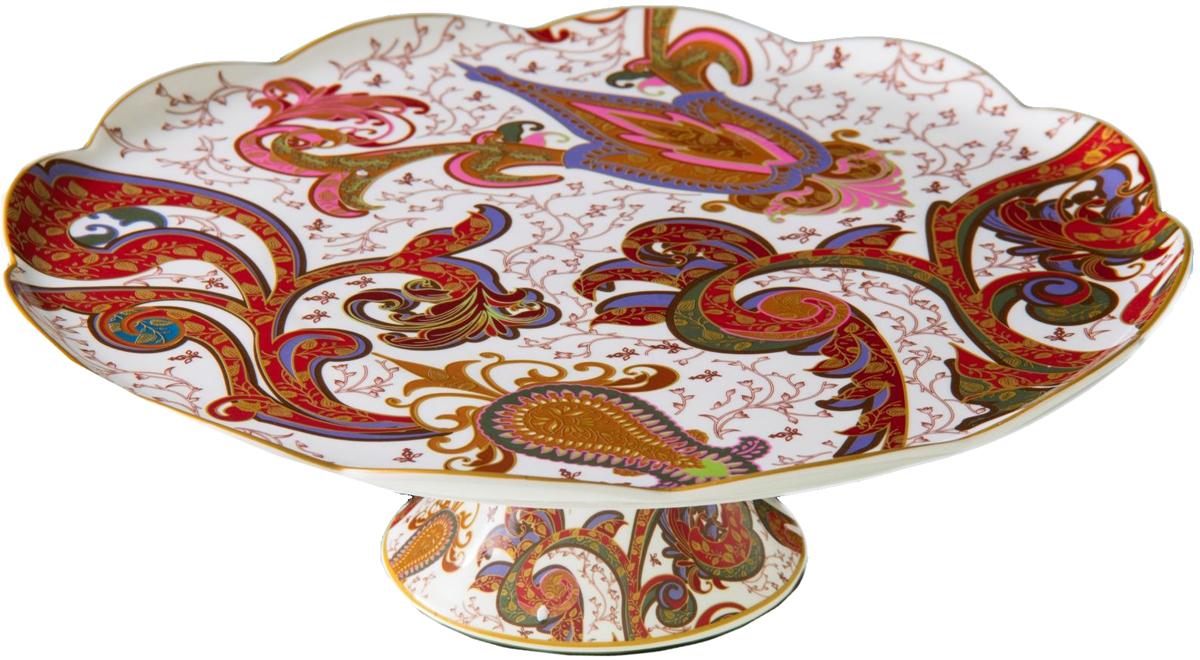 Подставка для торта Lamart Роспись цветов, 33 х 33 х 12 см133216На этой замечательной тортнице из серии Роспись цветов будет великолепно смотреться любой тортик: и очень простой, и самый изысканный. Все - благодаря тому, что ее, как, впрочем, и всю продукцию, выпущенную под маркой Lamart, отличает эксклюзивный дизайн и высочайшее качество. Тортница оригинальной формы с изысканным узором теплой красновато-коричневатой гаммы смотрится очень эффектно, но при этом ни капли не вычурно. Для настоящей хозяйки дома она станет замечательным подарком к значимому дню, будь то день Рождения или Новый год. Заказать эту оригинальную тортницу вы можете прямо сейчас в нашем интернет-магазине.