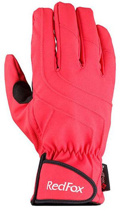 Перчатки Red Fox Light Shell ll, цвет: красный. 1040774. Размер M (21,5/23)1040774Перчатки Red Fox не только защитят ваши руки, но и станут великолепным украшением. Перчатки выполнены из полиэстера с добавлением спандекса. Модель оформлена эластичными прострочками. Изделие дополнено усилением в области ладони и большого пальца.