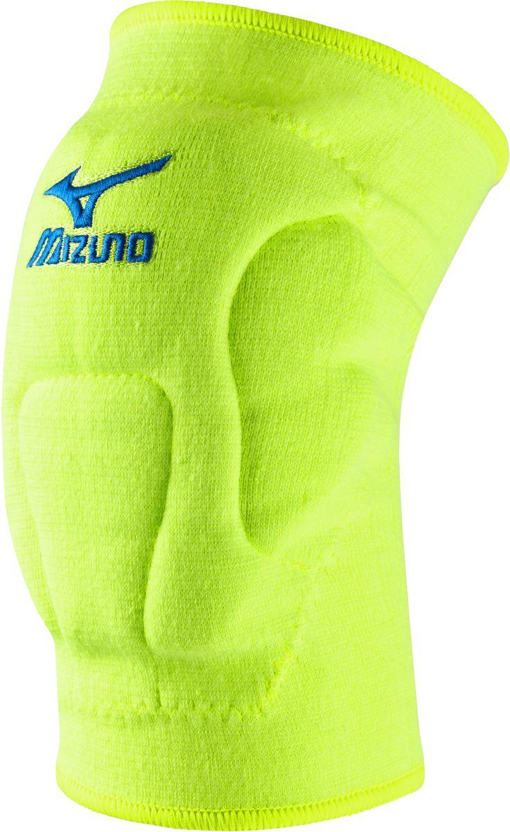 Наколенники волейбольные Mizuno  VS1 Kneepad , цвет: желтый, 2 шт. Z59SS891. Размер XL - Волейбол