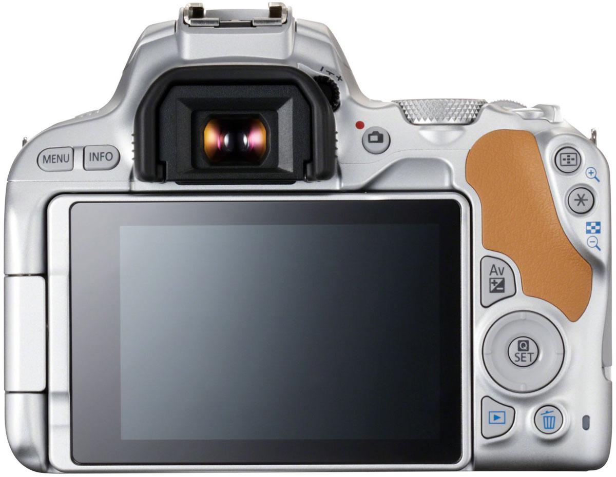 Canon EOS 200D Kit 18-55 IS STM, Silverцифровая зеркальная фотокамера Canon