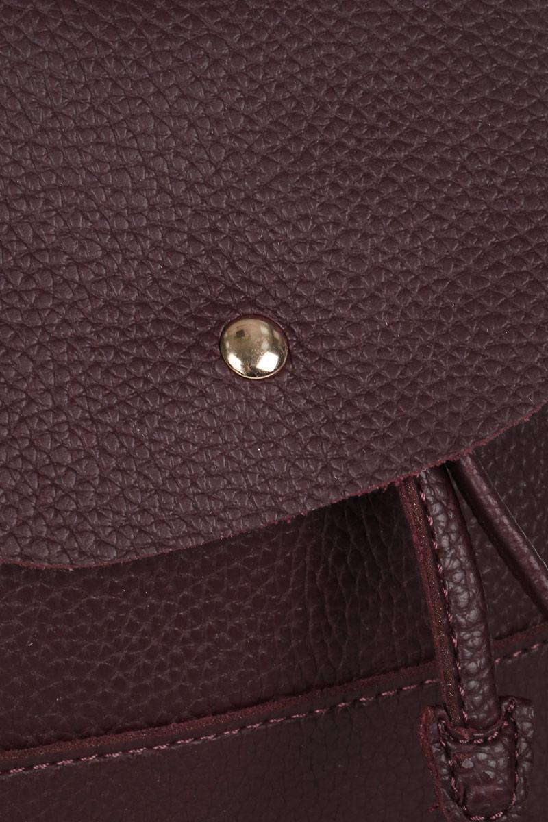 Рюкзак женский DDA, цвет:  бордовый.  DDA LB-1124BO DDA